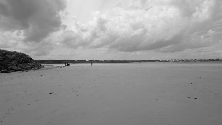 plage de char à voile à Santec