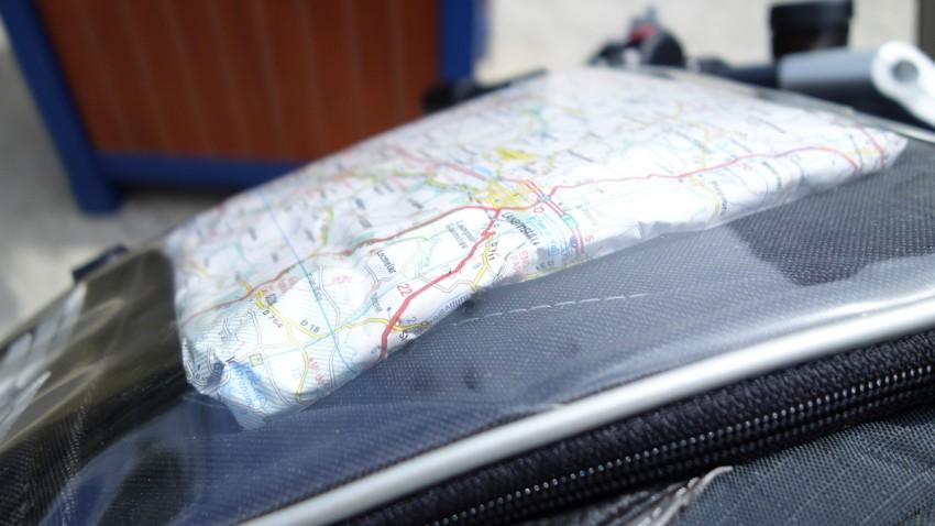 Carte de Bretagne : roadbook à moto