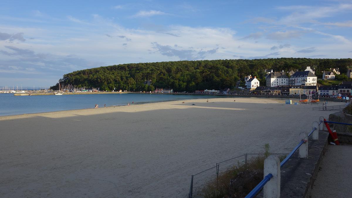 plage à Morgat (Finistère)