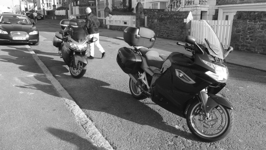 moto de David Jazt et Didier