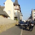 moto BMW et Kawasaki à St Malo