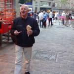 Didier en mode touriste