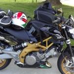 Aprilia Shiver Moto Passion 35 Rennes