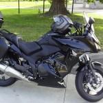 Honda CB1000F noire