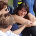 trio féminine motarde rennaise