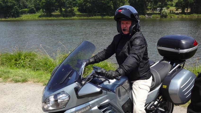 Didier Tremorin et son GTR 1400