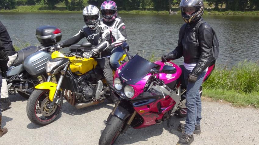 deux motards rennais à moto