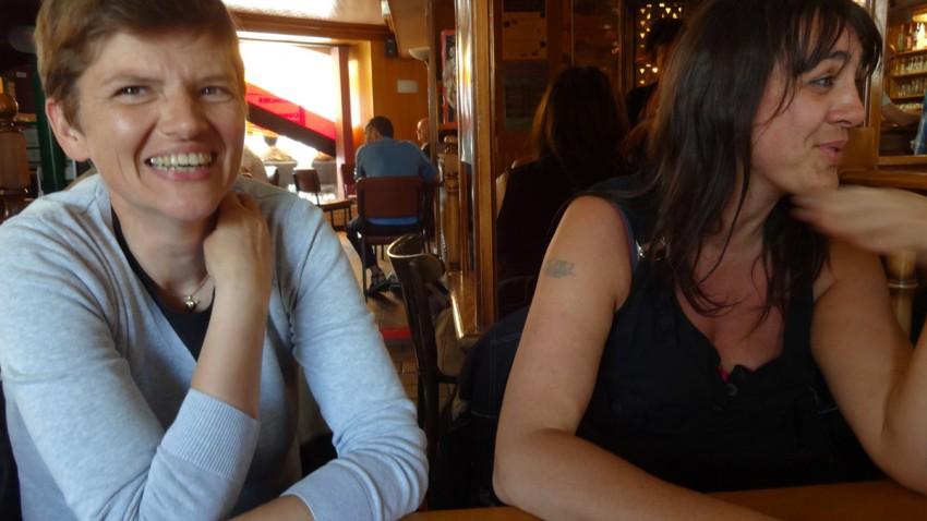 pause café à Guingamp (PMU)