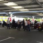 pause motarde à Lamballe