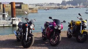 Saint-Malo à moto