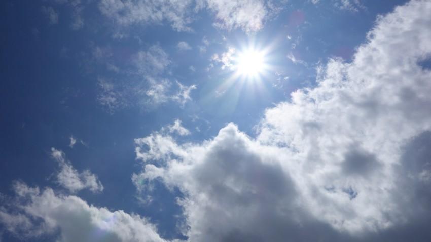 grand soleil ce 25 juillet 2013 à Rennes