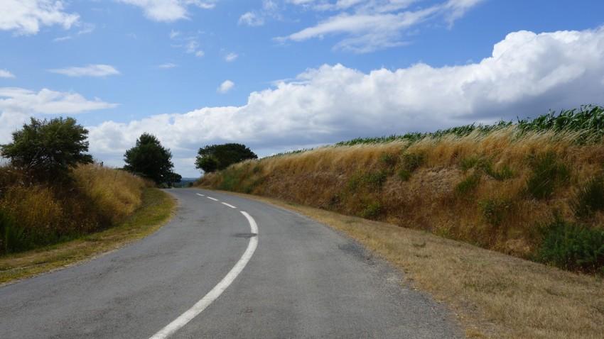 route bretonne à moto : le pied