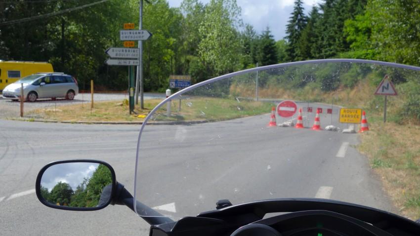 Corlay-Guingamp à moto : le bonheur