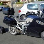 top case BMW K 1300 GT pour partir en voyage