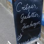 Galette, crêpes et hamburgers à Santec