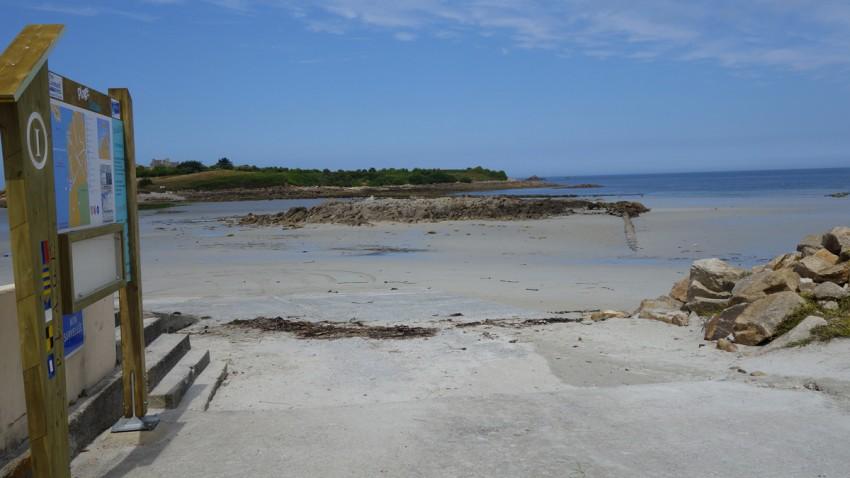 plage du dossen à Santec (29)