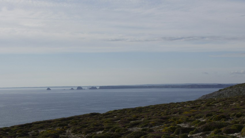 vue mer à Crozon (pointe de la chèvre)