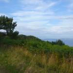 paysage breton, vue mer finistère