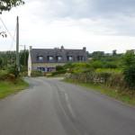 route Bretonne du côté de Crozon (Dep. 29)
