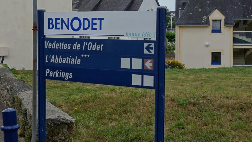 Motard à Benodet : Finistère Sud