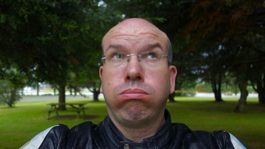 David Jazt sous la pluie Bretonne