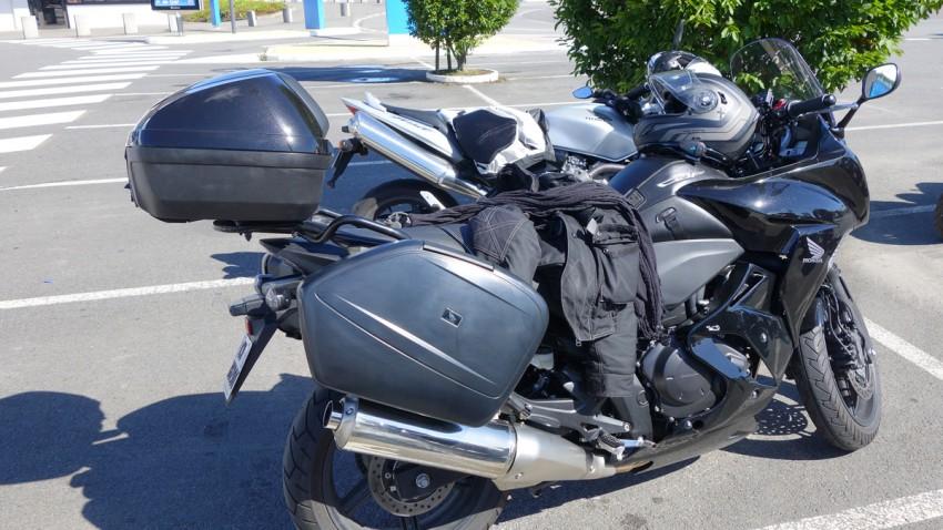 CBF 1000 Honda à Rennes (Leconte)