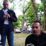 Gilles et Jean-Claude, deux motards Rennais
