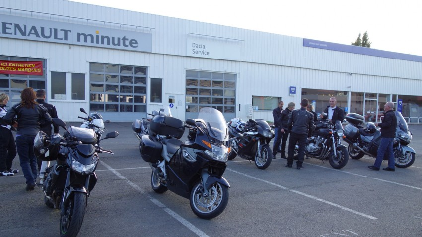 séparation des motards Rennais à Saint-Grégoire