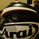 casque moto arai chaver 5 pride en promo