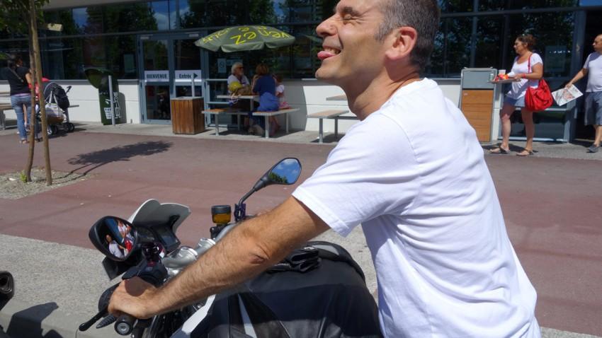 Jean-claude motard Rennais et ami de longue date de David Jazt
