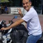motard Rennais au Val André