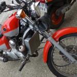 porte bouteille à moto