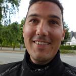 Arnaud, motard à Lanvallay