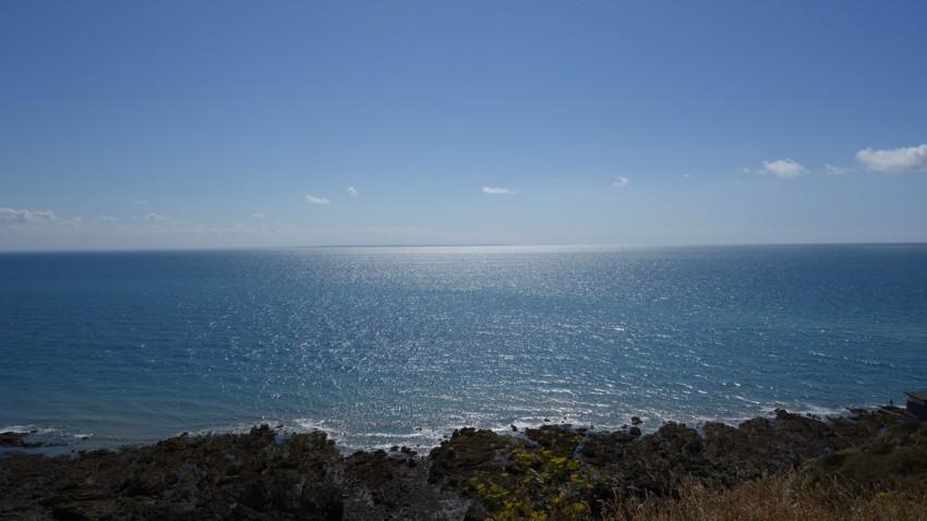 vue mer à Granville