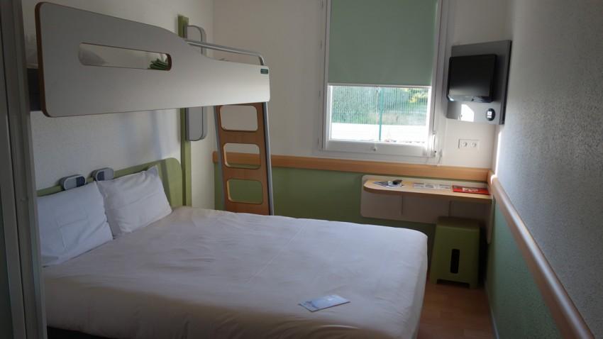 Nuitée à la glacerie : Hôtel Ibis 2 étoiles
