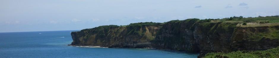 côte Normande en bord de mer