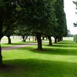 le cimetière américain est un lieu de recueillement