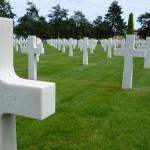 tombe du cimetière Américain