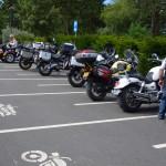 sortie moto en groupe