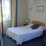 Chambre d'hôtel de la côte fleurie à Deauville
