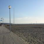 Deauville, les planches, la plage