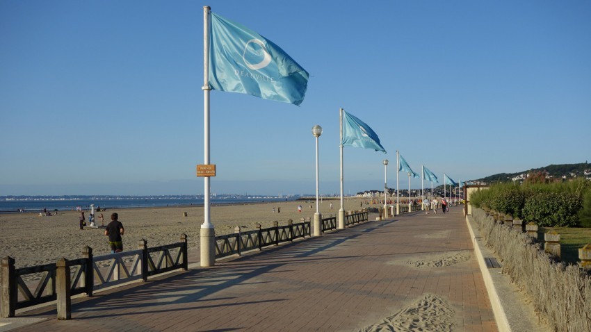 Deauville et sa plage de sable fin