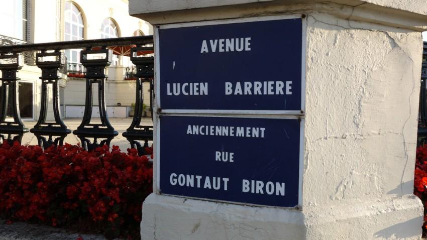 Avenue Lucien Barrière