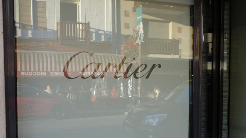 Boutique Cartier à Deauville