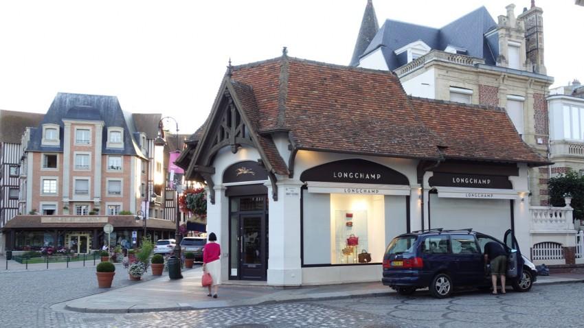 Boutique Longchamps à Deauville
