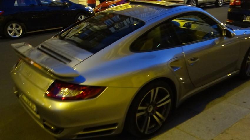 voiture de luxe à Deauville (Normandie)