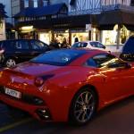 Ferrari California à Deauville (Normandie)