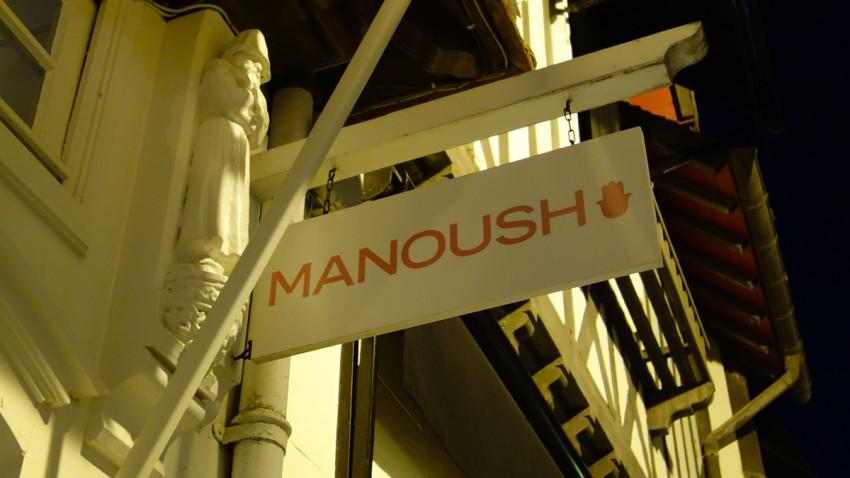 Manoush à Deauville (Normandie)