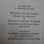 6 juin 2004 : Evènement Jacques Chirac