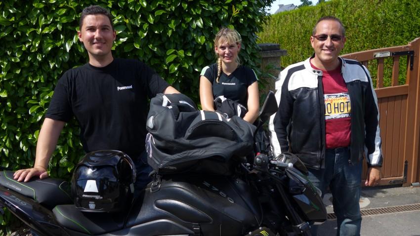 Arnaud, Katia et Ludovic